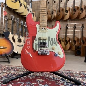 Schecter Traditional Route 66 Santa Fe H/S/S, Roasted Maple Fingerboard, Sunset Red (VALUTIAMO PERMUTE), Gas Music Store - Permute on line
